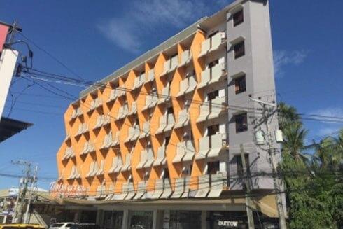 Tsaiホテル寮の外観